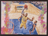 2019-20 Panini Court Kings #13 Lebron James Citrine Points In the Paint /49