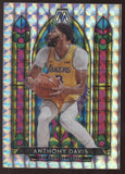2019-20 Panini Mosaic #10 Anthony Davis Lakers Prizm Stained Glass SSP