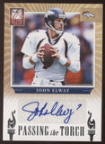 2012 Panini Elite John Elway Peyton Manning Passing the Torch Dual Auto /20