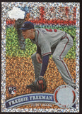 2011 Topps #145 Freddie Freeman Braves Diamond Anniversary RC Rookie