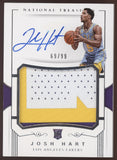 2017-18 National Treasures Josh Hart RPA 3 Color Patch RC Auto /99 READ