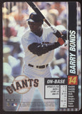 2002 MLB Showdown Barry Bonds Giants Holo Foil Card 283/356