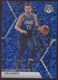 2019-20 Panini Mosaic Luka Doncic 2nd Year Prizm Fast Break Blue /85