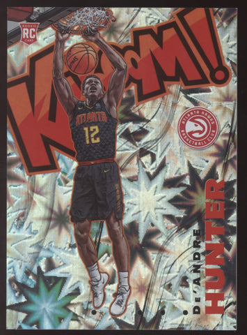 2019-20 Panini Crown Royale De'Andre Hunter Kaboom RC SSP READ CONDITION