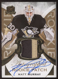 2015-16 UD The Cup Matt Murray Gold Rainbow Patch RC Rookie Auto /24