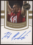2010 Press Pass Rob Gronkowski Sideline Signatures RC Auto Autograph