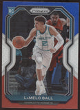 2020-21 Panini Prizm Lamelo Ball Prizm Red White Blue RC Rookie
