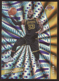 2020-21 Panini Revolution #74 Lebron James Lakers Sunburst /75