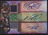 2012 Topps Triple Threads Russell Wilson Brock Osweiller Foles Patch RC Auto /27