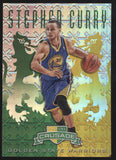 2012-13 Panini Crusade Stephen Curry Prizm Green Gold /25 EX-MT