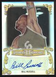 2017 Leaf Metal Sports Heroes Bill Russell Celtics Auto Autograph True 1/1