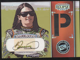 2011 Press Pass Eclipse Danica Patrick Spellbound Tire Relic Auto /10