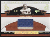 2007 National Treasures Roger Staubach All-Decade 2 Color Patch True 1/1