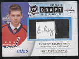2014-15 UD The Cup Evgeny Kuznetsov Rookie Draft Boards RC Auto /25
