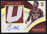 2016 Panini Immaculate Buddy Hield Collegiate Patch Gold RC Auto /10