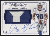 2015 Panini Flawless Dez Bryant 2 Color Patch Auto Autograph /20