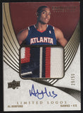 2007-08 UD Exquisite Al Horford Limited Logos 4 Color Patch RC Auto /50