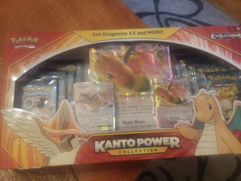 Pokemon TCG: Kanto Power Collection Box Dragonite EX XY Evolutions Sealed #1