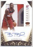 2012-13 Panini Preferred Bradley Beal Silhouettes 3 Color Logo Patch RC Auto /25