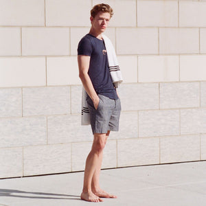 S2 Indigo Cotton City Shorts