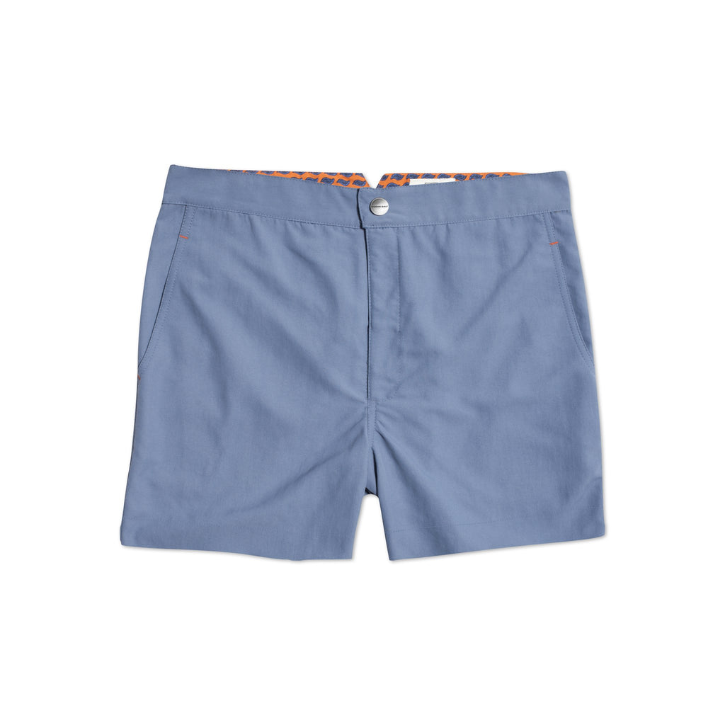 Huck 5 Dusty Blue swim shorts