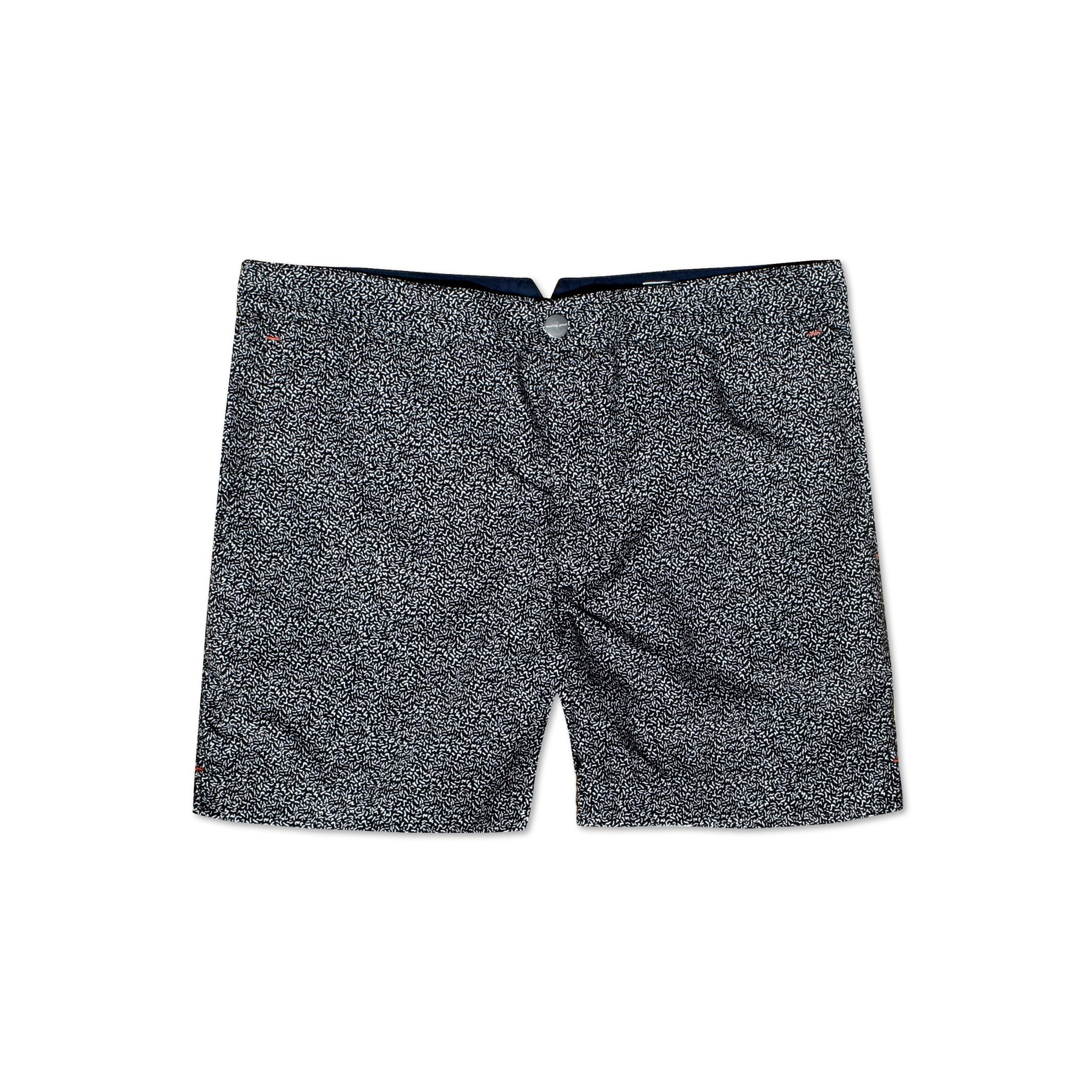 Huck 5 Micro Black tailored swim shorts