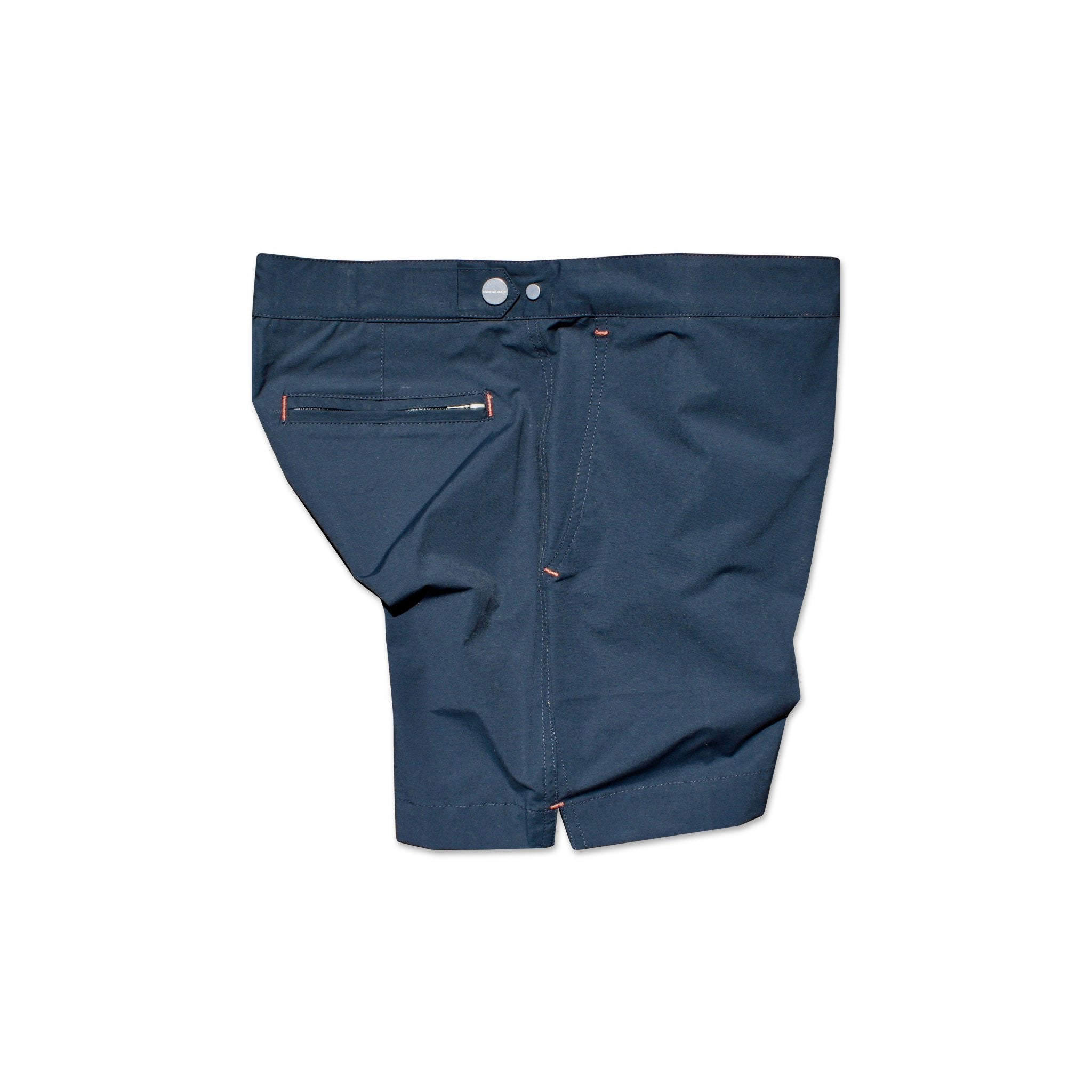 Huck 5 Navy Blue swim shorts