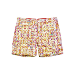 Huck 5 Persian Orange swim shorts