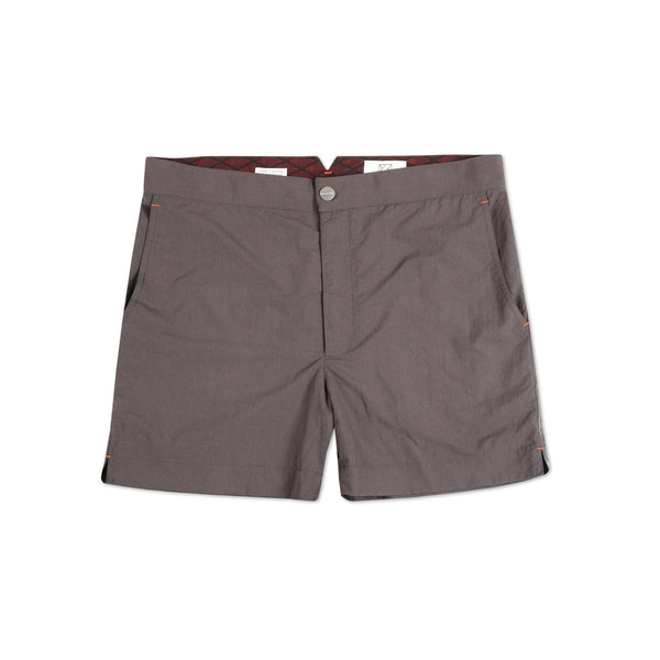 Huck 5 Slate Grey swim shorts