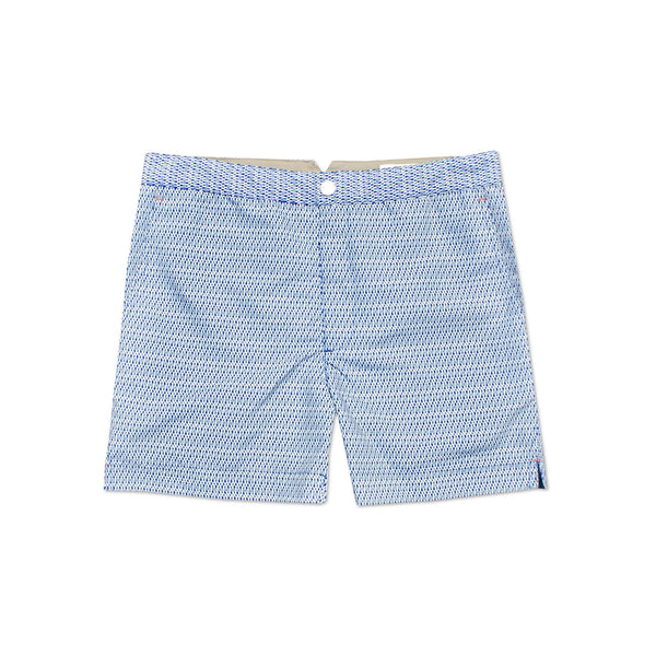 Huck 5 Undertow Blue swim shorts