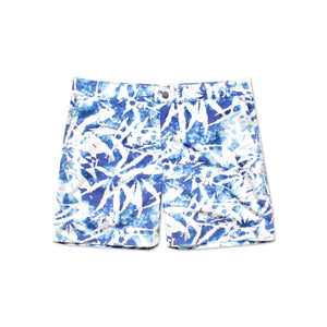 Huck 5 Bamboo White tailored swim shorts