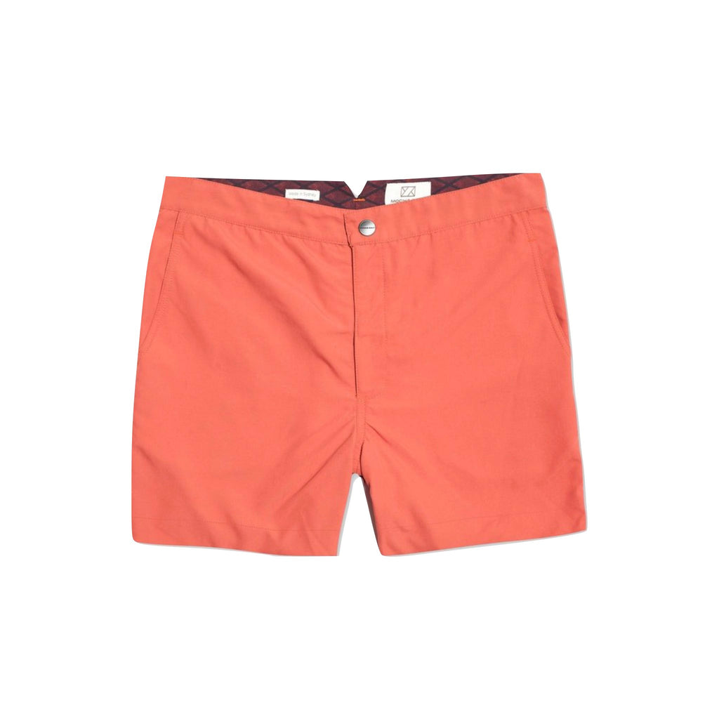 Huck 5 Washed Red swim shorts