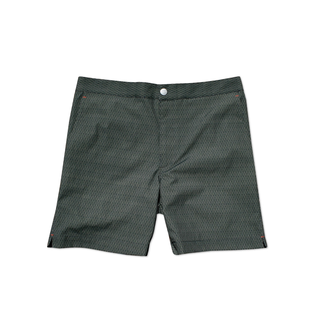 Indy Undertow Charcoal swim shorts