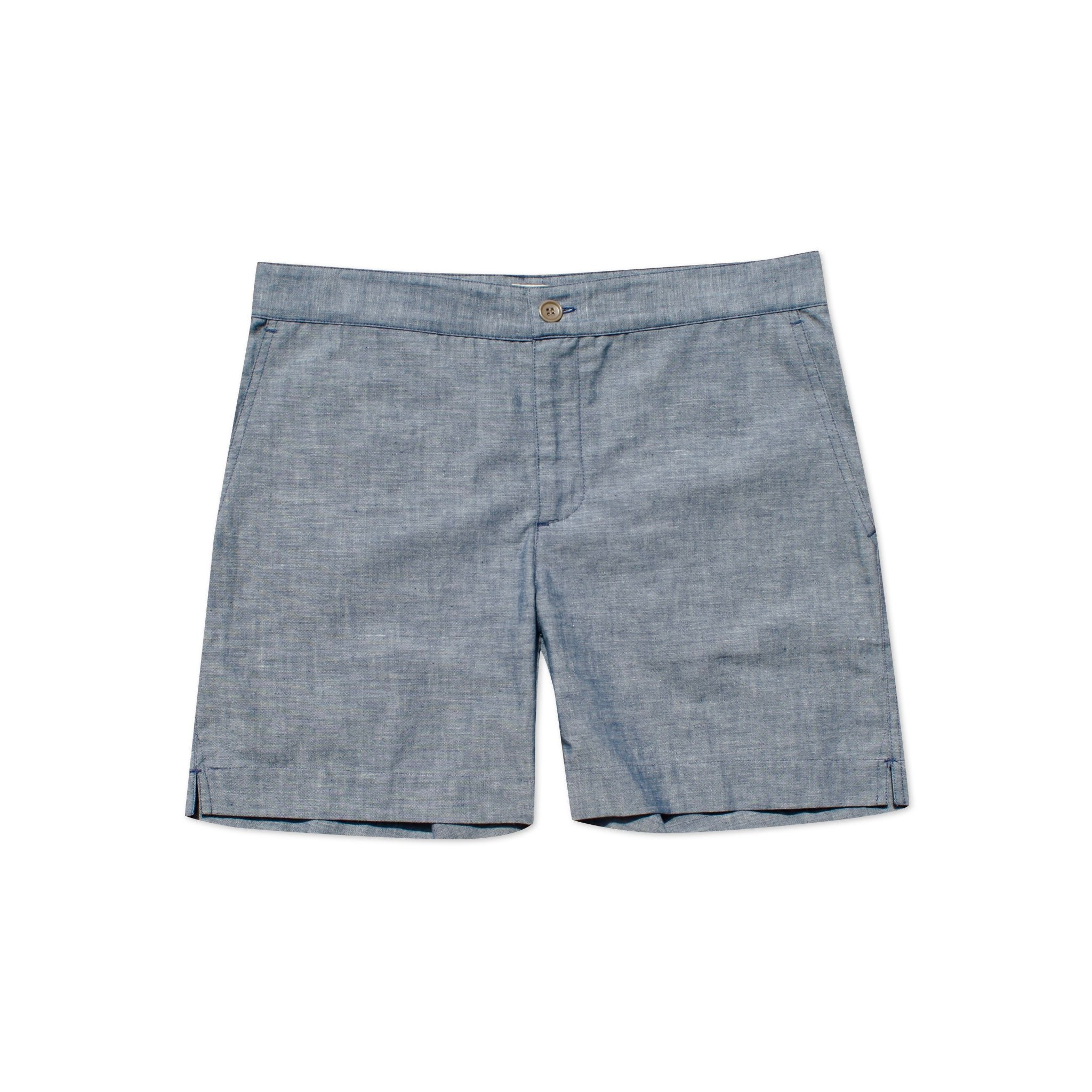 S2 Blue Cotton Shorts