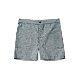 S2 Indigo Cotton Shorts