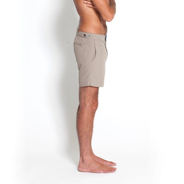 Huck 5 Stone swim shorts side