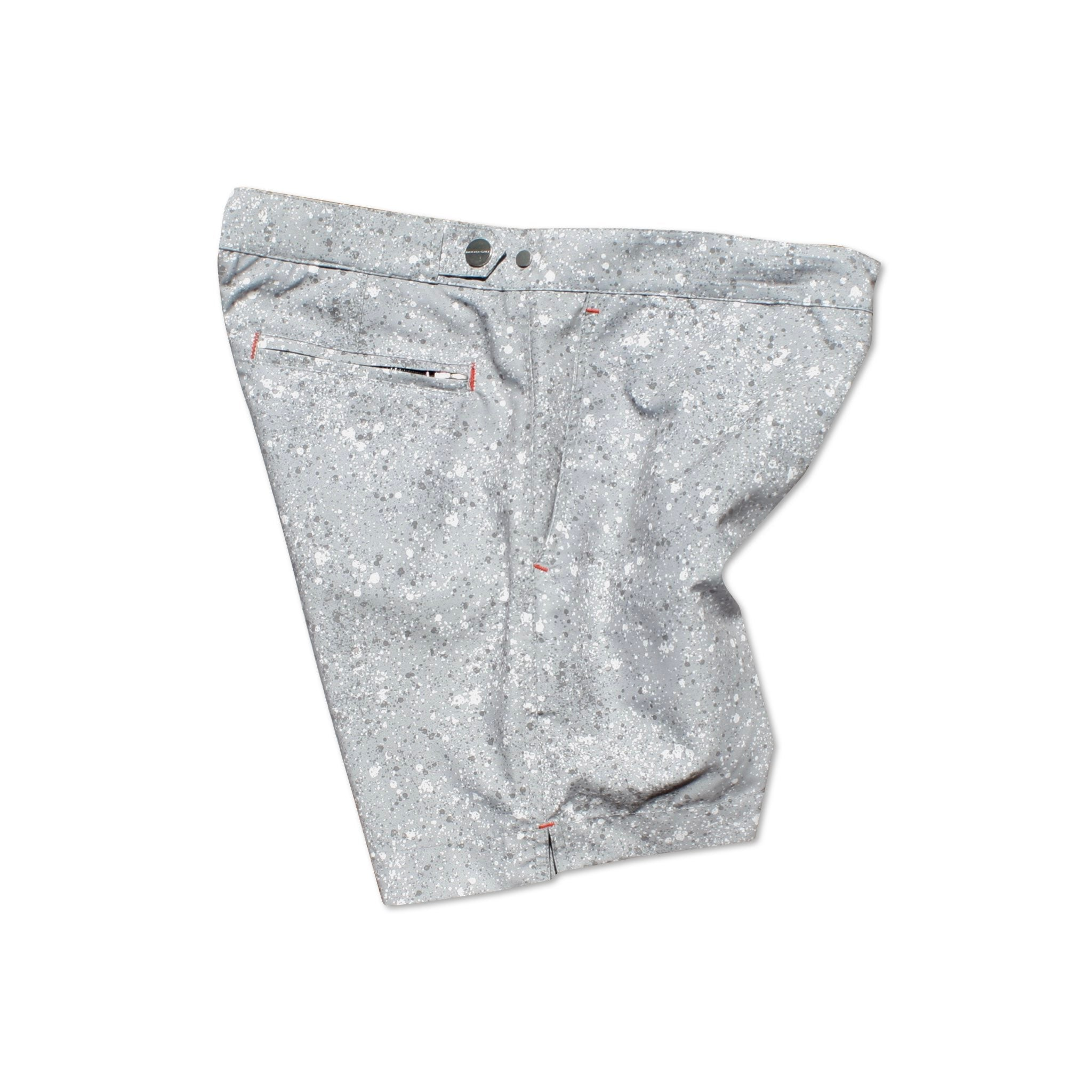 Huck 5 Granite Grey tailored swim shorts