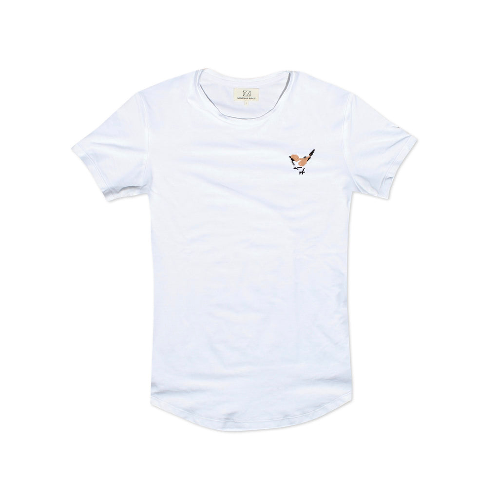White Sparrow Crew Neck T-shirt