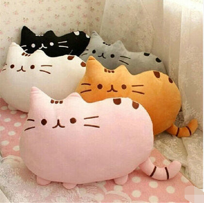 Pusheen stuffed kitty in 7 colors