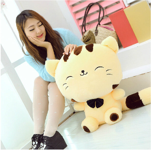 Happy Cat Plush Stuffed Animal