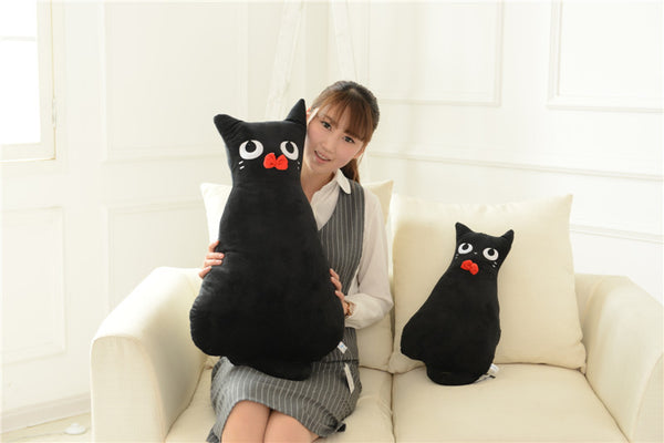 Creative Alice big and small plush stuffed cats in 3 colors