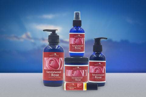 Inner Sunrise aromatherapy collection