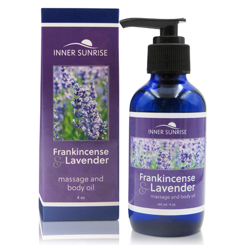 Frankincense & Lavender Massage and Body Oil