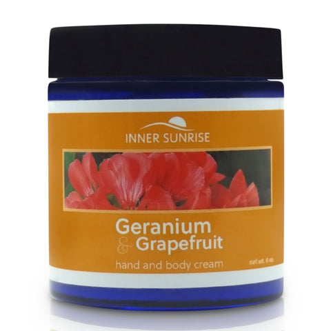 Geranium & Grapefruit Hand and Body Cream