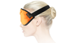 Dream Essentials Opulence Plush Sleep Mask - Orange