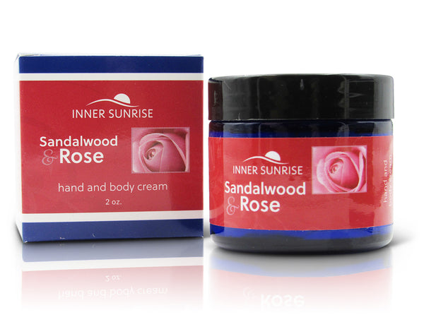 TRAVEL SIZE Sandalwood & Rose Hand and Body Cream