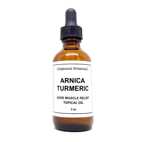 Arnica + Turmeric Sore Muscle Relief Topical Oil