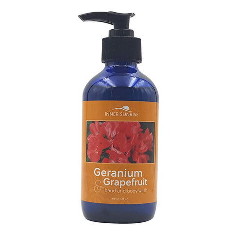 Geranium & Grapefruit Hand and Body Wash - ON SALE NOW