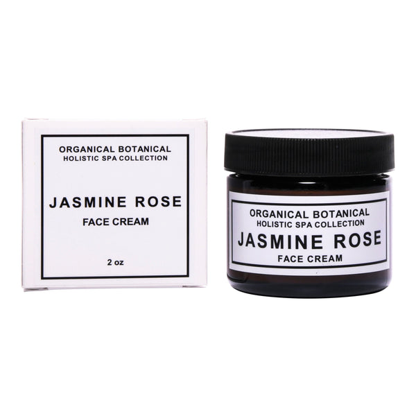Jasmine Rose Face Cream - Holistic Spa Collection