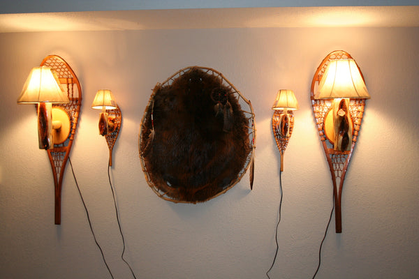 Snowshoe Wall Lights